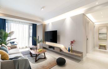 经济型90平米三室两厅混搭风格客厅效果图