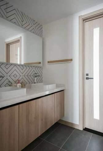 经济型140平米三室两厅日式风格卫生间效果图