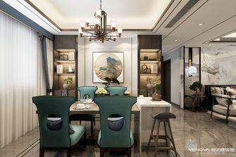 140平米三室三厅中式风格餐厅图片