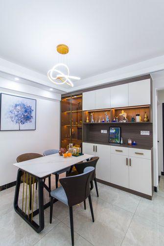 富裕型70平米公寓轻奢风格餐厅装修案例