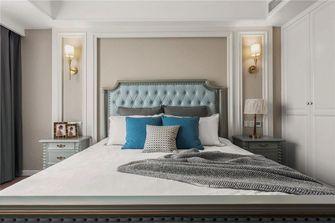 10-15万120平米三室两厅英伦风格卧室设计图