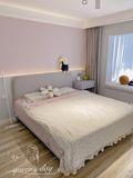 80平米现代简约风格卧室装修案例