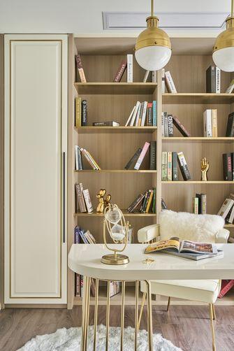 经济型120平米三室两厅法式风格书房装修图片大全