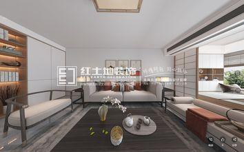 富裕型120平米三室一厅日式风格客厅效果图