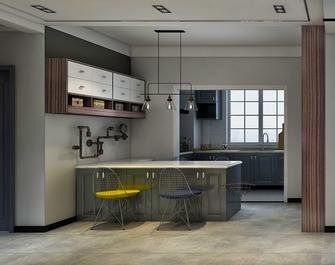 富裕型100平米三室两厅混搭风格餐厅效果图