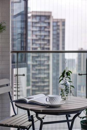 20万以上140平米三法式风格阳台图片