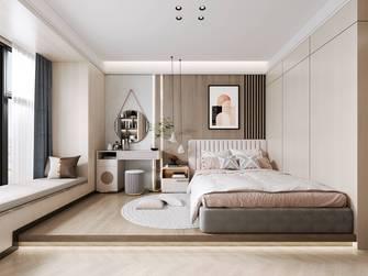 90平米三室三厅轻奢风格卧室效果图