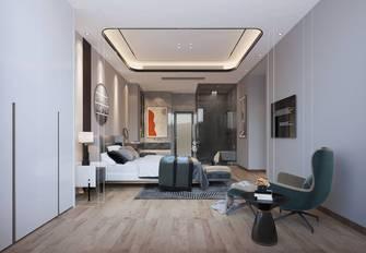经济型140平米三室两厅混搭风格卧室图片大全