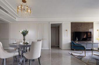 经济型110平米三室三厅美式风格客厅装修案例