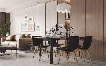 豪华型140平米三室两厅现代简约风格餐厅图片大全