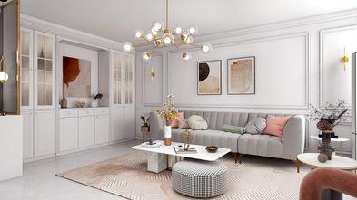 10-15万110平米三室一厅轻奢风格客厅欣赏图