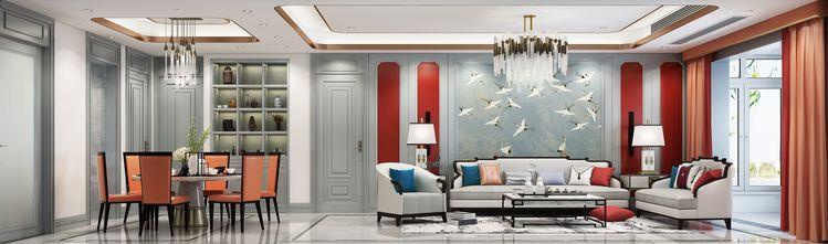50平米小户型中式风格客厅图片大全