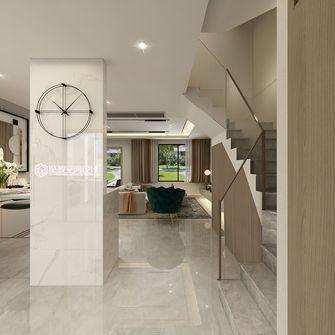 富裕型120平米三室两厅现代简约风格楼梯间装修效果图