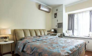 经济型100平米三室两厅现代简约风格卧室图片