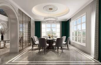 20万以上140平米别墅法式风格餐厅效果图