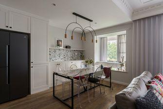富裕型130平米三室一厅法式风格餐厅图片大全
