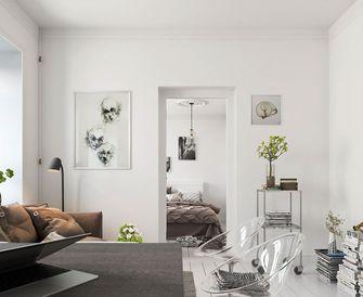 5-10万60平米一居室北欧风格客厅效果图