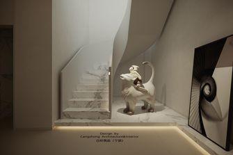 20万以上140平米别墅轻奢风格楼梯间图片