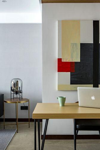 130平米三室两厅混搭风格书房设计图