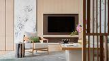 豪华型140平米别墅中式风格客厅装修图片大全
