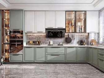 豪华型120平米三室两厅美式风格厨房装修案例