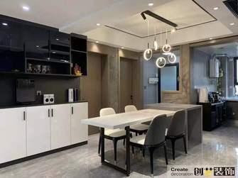 经济型140平米四室两厅轻奢风格餐厅图片大全
