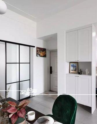 富裕型90平米三室两厅北欧风格玄关图片
