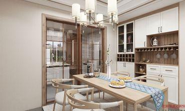 130平米三室一厅中式风格餐厅装修图片大全