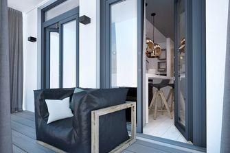 80平米一居室工业风风格客厅欣赏图