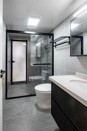 富裕型100平米三室两厅混搭风格卫生间装修图片大全