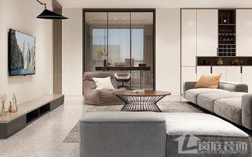 富裕型三室一厅北欧风格客厅图片大全