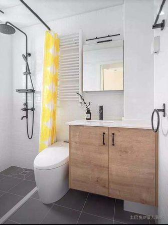 5-10万100平米三室两厅北欧风格卫生间装修效果图