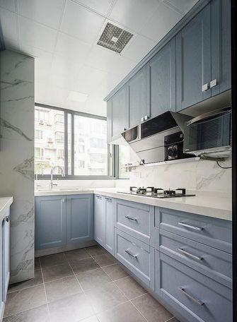三室一厅美式风格厨房设计图
