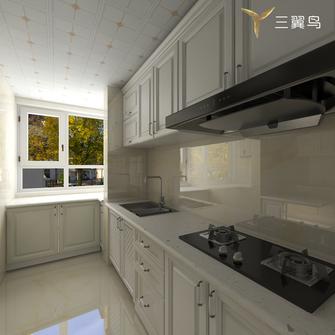 10-15万90平米一居室美式风格厨房图