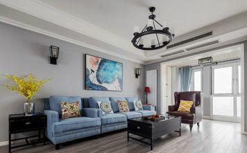 20万以上三室两厅混搭风格客厅装修图片大全