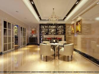 10-15万140平米别墅英伦风格餐厅装修案例