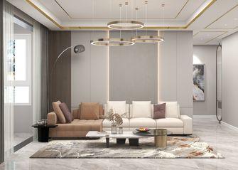10-15万140平米四室一厅轻奢风格客厅设计图