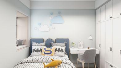 富裕型90平米轻奢风格青少年房装修案例