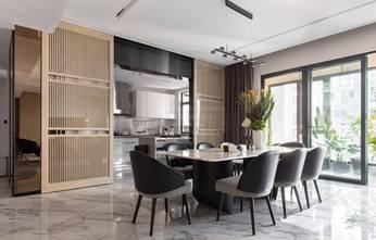 140平米四室三厅轻奢风格餐厅装修图片大全