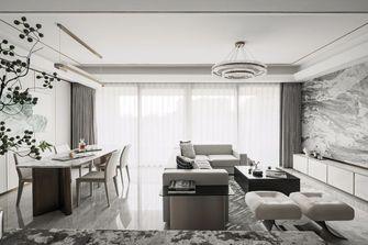 110平米三公装风格客厅效果图