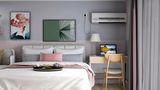 10-15万60平米复式北欧风格卧室装修案例