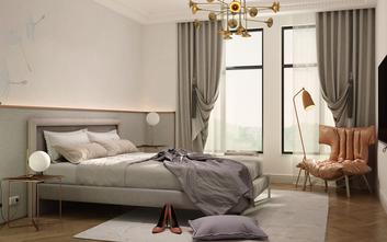 富裕型140平米四欧式风格卧室设计图