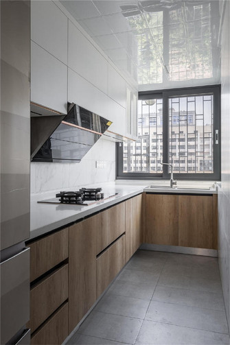 10-15万140平米三室两厅新古典风格厨房图片大全