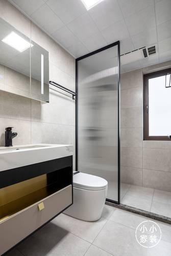 豪华型110平米三室两厅现代简约风格卫生间欣赏图