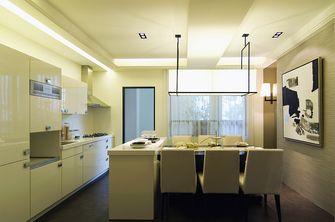 豪华型120平米三室两厅轻奢风格餐厅图片