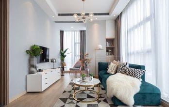 5-10万50平米一室一厅轻奢风格客厅装修图片大全
