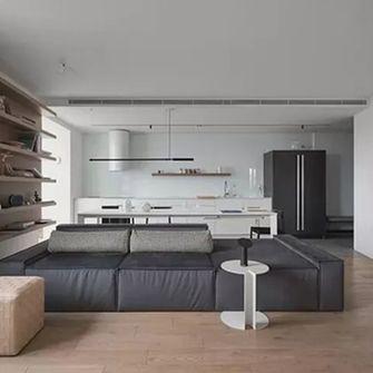 3万以下80平米公寓现代简约风格客厅欣赏图