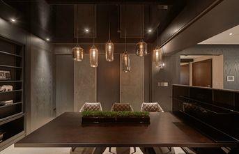 富裕型130平米四室一厅现代简约风格餐厅装修案例