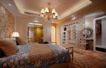 120平米三田园风格卧室装修图片大全