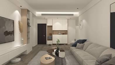 豪华型140平米三室两厅现代简约风格走廊图